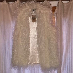 American Threads faux fur Vest